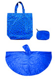 B-f-008(Folderable Tote with Short  Poncho and Case)